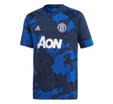 adidas Youth Manchester United Pre-Match Jersey 19/20 - Mystery Ink/Navy