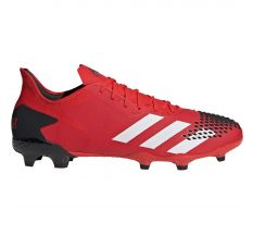 adidas Predator 20.2 FG - Active Red/White