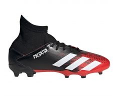 adidas Jr Predator 20.3 FG - Core Black/White
