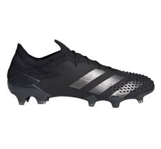 adidas Predator 20.1 Low Cut FG - Core Black/Silver Metallic