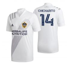 adidas Youth Chicharito #14 LA Galaxy Home Jersey 2020
