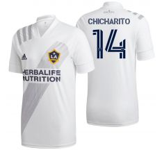 adidas Chicharito #14 LA Galaxy Home Jersey 2020