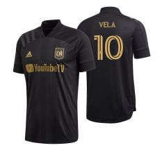 adidas Youth Vela #10 LAFC Home Jersey 2020