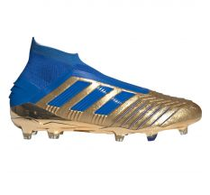 adidas Predator 19+ FG - Gold Metal/Football Blue