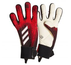 adidas Jr Predator Pro GK Glove - Black/Active Red