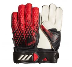 adidas Jr Predator MTC Fingersave Glove - Black/Active Red