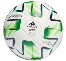 adidas MLS Competitive NFHS Ball - White/Samba Blue