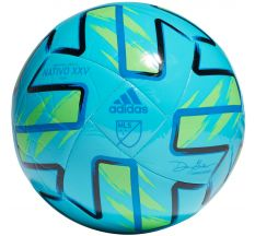 adidas MLS Club Ball - Samba Blue/Solar Green