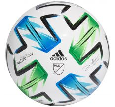 adidas MLS Pro Ball - White/Samba Blue