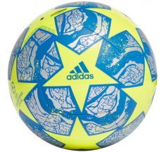 adidas UEFA Champions League Finale Istanbul Club Ball - Solar Yellow/Silver Metallic