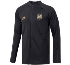 adidas LAFC Anthem Jacket 2020 - Black/Carbon