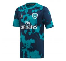 adidas Youth Arsenal Pre-Match Jersey 19/20 - Equipment Green/Collegiate Navy