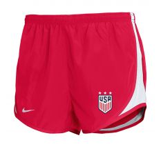 Nike Girl's USWNT Tempo Shorts - University Red