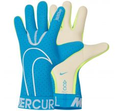 Nike Mercurial Touch Elite Goalkeeper Glove - Blue Hero/White