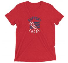 Talisman Support Local Futbol '94 Tee - Red