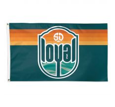 SD Loyal 2'X3' Deluxe Flag
