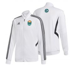 adidas Youth SD Loyal Tiro Track Jacket - White/Black