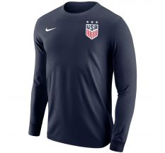 Nike Men's USWNT Core Long Sleeve Tee - Navy