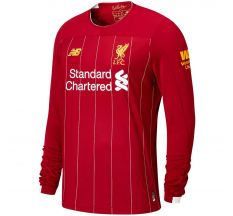 New Balance Liverpool Home Long Sleeve Jersey 19/20