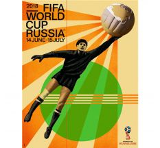 "2018 FIFA World Cup Russia™ Event Poster - 24"" X 30"""