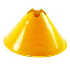Kwik Goal Large Disc Cone - Yellow