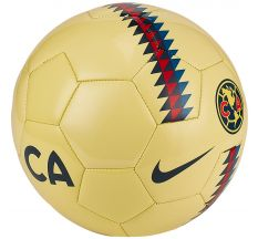 Nike Club America Supporters Ball - Lemon Chiffon/Armory Navy