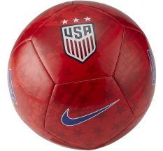 Nike USA Pitch Ball - Speed Red/Gym Red/White