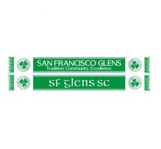 Sf Glens Supporters Scarf - Green/white