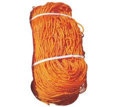 Goal 7' x 21' Soccer Net - 3mm Orange (Pair)