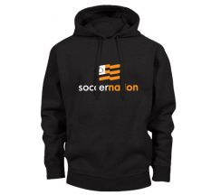 SoccerNation Hoody - Black