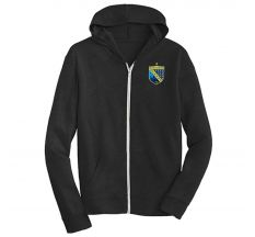 San Diego Sockers Alternative Full Zip Hoodie - Eco Black/Dark Grey
