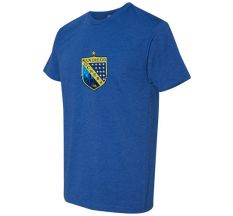 Adult/Youth San Diego Sockers Official Crew Crest Tee - Royal