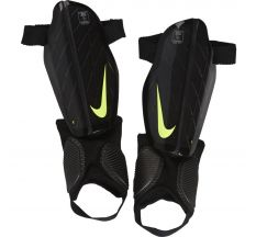 Nike Youth Attack Stadium Guard - Black/Volt