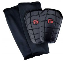 G-Form Pro-S Clash Shin Guards - Black/Red