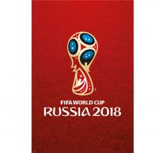 "2018 FIFA World Cup Russia™ Logo Poster - 24"" X 48"""