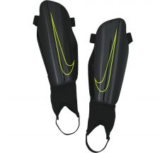 Nike Youth Charge 2.0 Shin Guards - Black/Volt