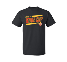 Arizona State Cup Tee (Official Logo) - Black