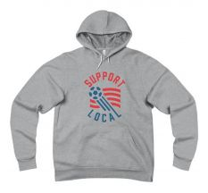 Talisman Support Local Futbol '94 Hoody - Grey