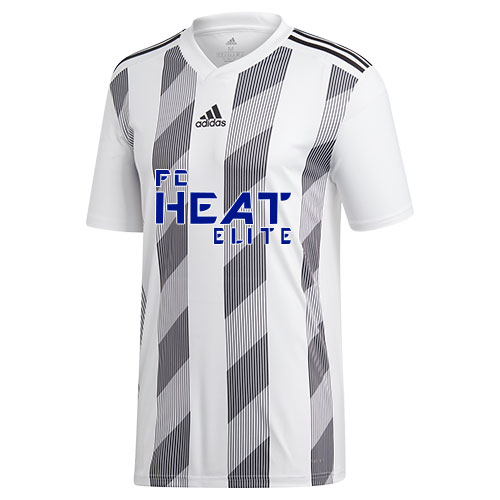adidas Youth Striped 19 Jersey - White/Black