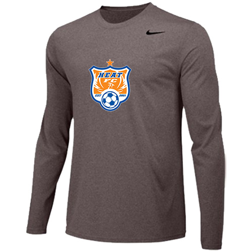 Nike Youth Legend Long Sleeve Training Top - Grey