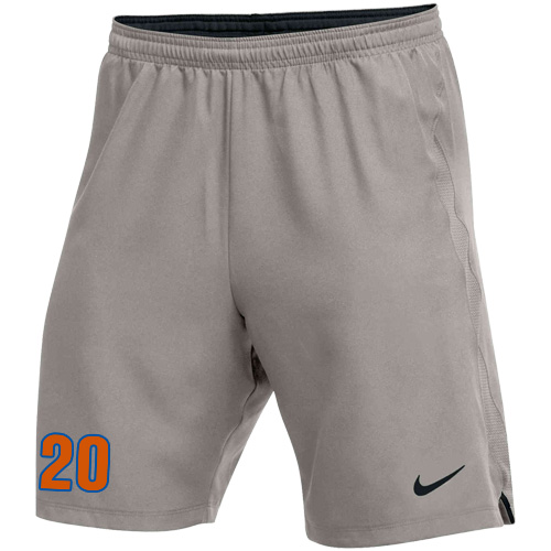 Nike Youth Laser IV Short - Pewter Grey/Black