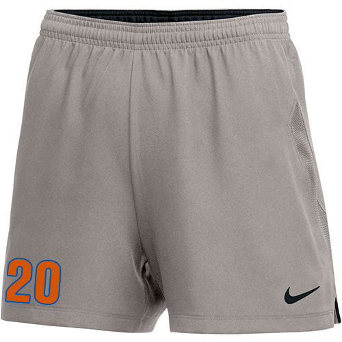 Nike Women's Laser IV Short - Pewter Grey/Black