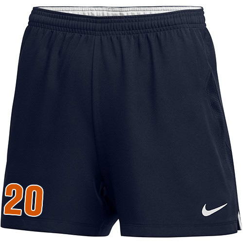 Nike Women's Laser IV Short - College Navy/White