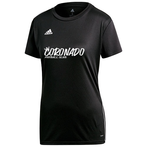 Adidas Women's Core 18 Training Jersey - Black/white