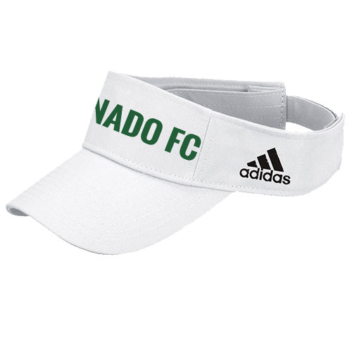 adidas Adjustable Visor - White/Black