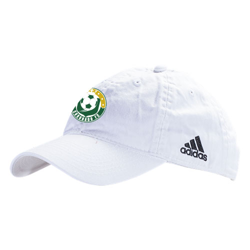 adidas Slouch Adjustable Hat - White/Black