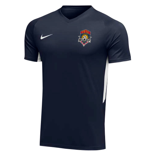 Nike Youth Tiempo Premier Jersey - College Navy/White