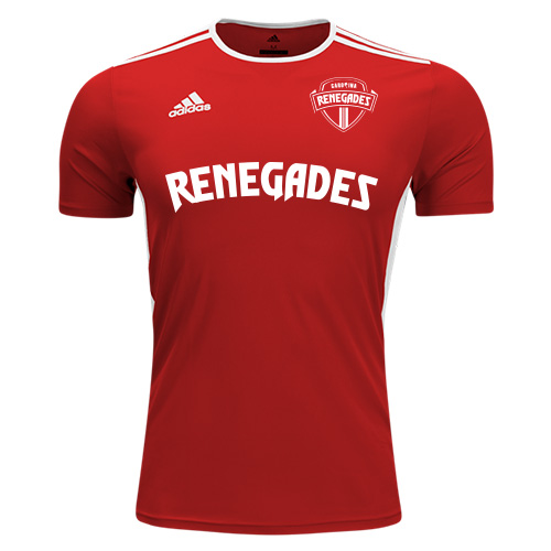 adidas Entrada 18 Jersey - Power Red/White
