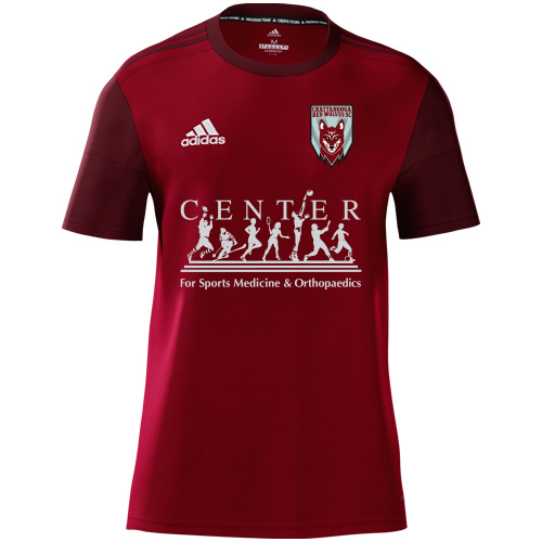 Red Wolves Youth Custom Misquadra 17 Jersey - Red/burgandy