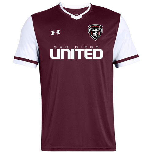 Under Armour Men's Maquina 2.0 Jersey - Maroon